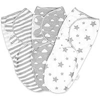 Baby Swaddle Wrap Newborn Blanket 0-3 Months 100% Organic Cotton Swaddles