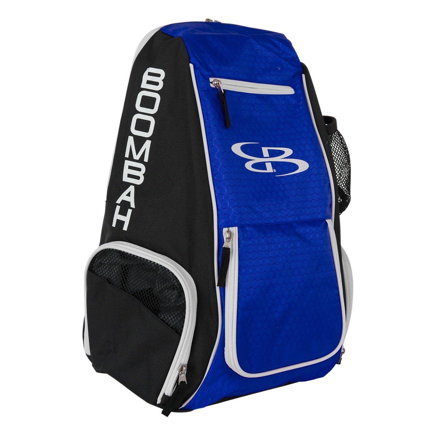 Boombahスパイクバレーボールバックパック – 10カラーオプション – Holdsボール、靴、水ボトルand More B01MSOL1ZD ブラック/ロイヤル(royal) ブラック/ロイヤル(royal)