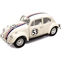 Volkswagen Lucky Diecast 1/24 VW Beetle Coccinelle Herbie The Love Bug #53