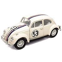 Volkswagen Lucky Diecast 1/24 VW Beetle Coccinelle Herbie The Love Bug #53