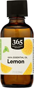 365 by Whole Foods Market, Aromatherapy 100% Essential Oil, Lemon, 2 Fl Oz