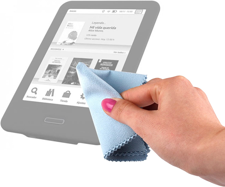 DURAGADGET Gamuza Limpiadora para eReader Nuevo e-Reader Kindle ...