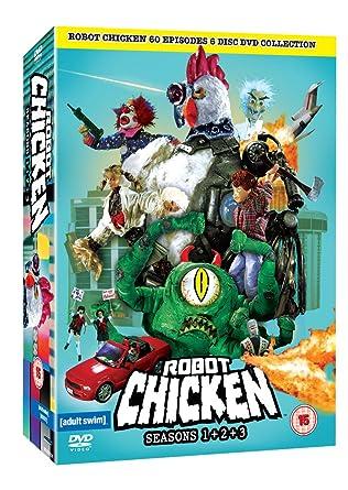 robot chicken series 1 3 complete dvd amazon co uk dvd blu ray