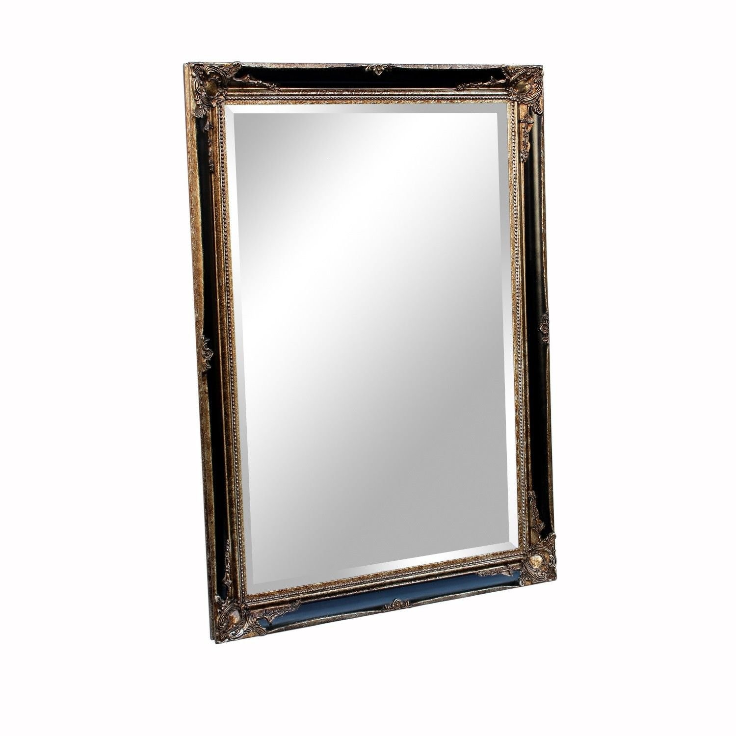 Home Supplies X LARGE Antique Silver Shabby Chic Ornate Decorative Wall Mirror China