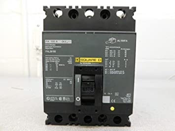 SQUARE D 3-POLE 100A 240VAC CIRCUIT BREAKER