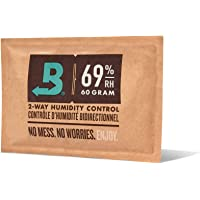 Boveda-Purolar için/Tütün |% 69 RH 2 Yönlü Nem Kontrolü | Her 25 puroları bir Neme Can Tutma ile Kullanımı için Boyut 60…