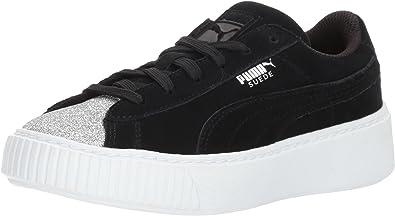 PUMA Kids' Suede Platform Sneaker