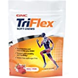 GNC TriFlex Soft Chews, Berry Creme, 60 Soft Chews, Supports Joint Health