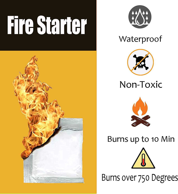 Grills & Outdoor Cooking Patio, Lawn & Garden Fire Starter 100 pcs ...