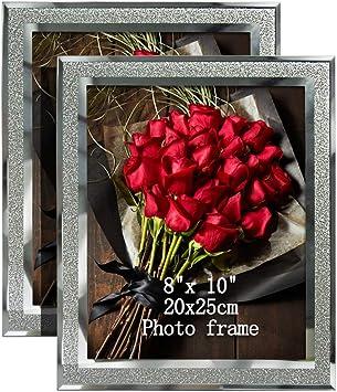 Cadre photo en verre 8x10
