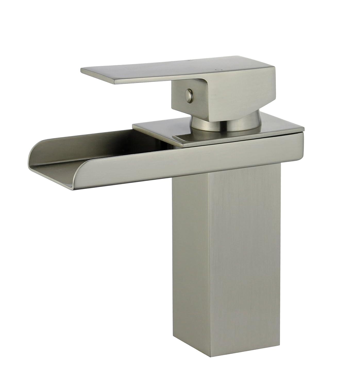 Bellaterra Home 10167P5-BN Pamplona Single Handle Bathroom Vanity ...