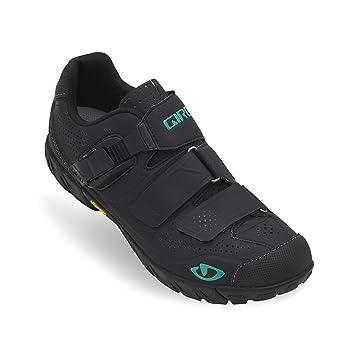 Giro Terradura – Zapatos de montaña de las mujeres, (Negro, verde (black