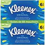 Kleenex Original Tissues - 12 Boxes (864 Tissues Total)