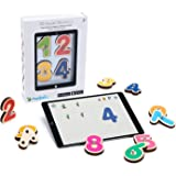 Marbotic - Smart Numbers for iPad & Samsung Tablets - Ages 3-5 - Interactive Wooden Numbers Set - Hands-on Educational Learni