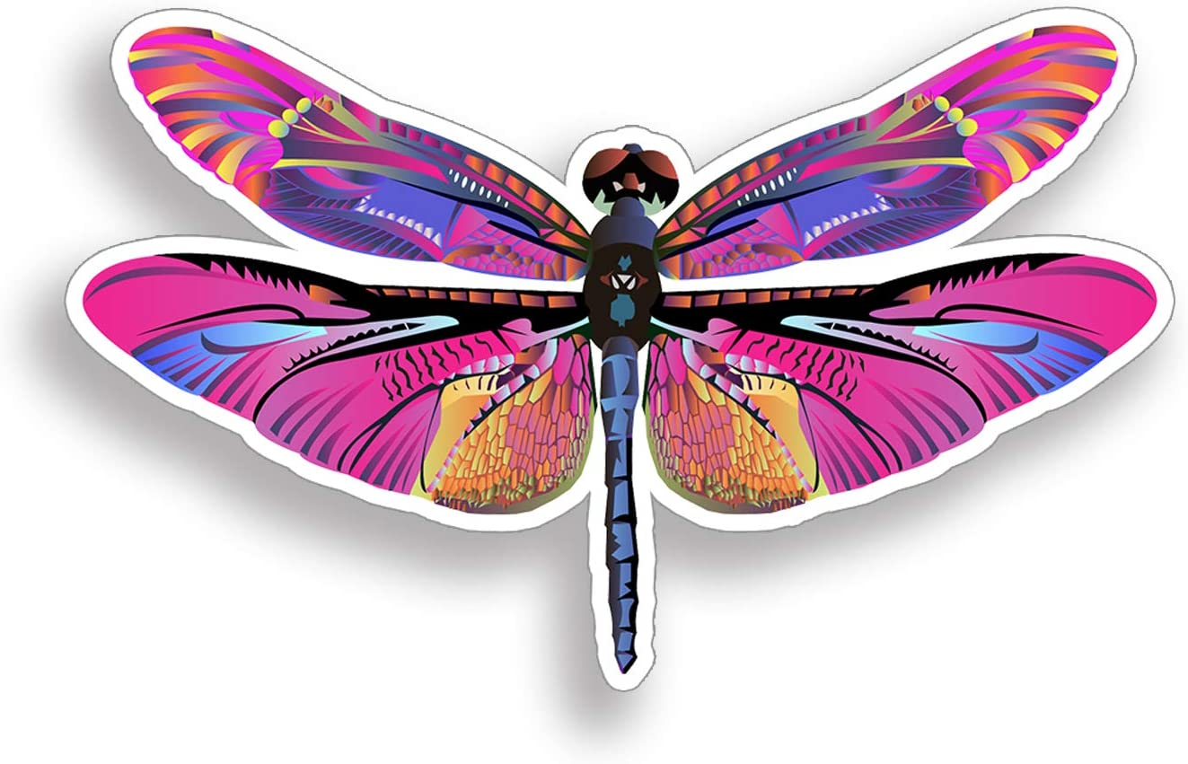Dragonfly Dragonflies Insect Graphic Decal Sticker Car Vinyl