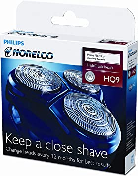 Cuchillas Philips Norelco HQ9 - Cabezales de afeitado: Amazon.es ...