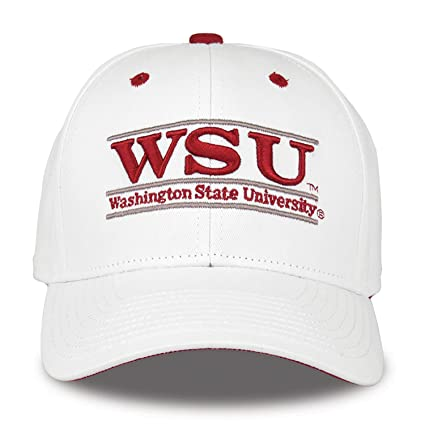 00d82b3d95c Image Unavailable. Image not available for. Color  The Game NCAA Washington  State Cougars Unisex NCAA bar Design Hat ...