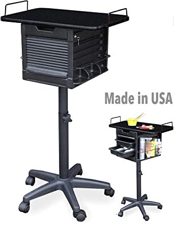 Amazon.com: 2460 Salon Spa Utility Stylist Lockable carro ...