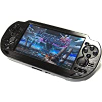 COSMOS Black Aluminum Metallic Protection Hard Case Cover for Playstation PS VITA 1000 Series, Fits for Oval Start & Select Button Only (NOT for PSV 2000 Slim Version)