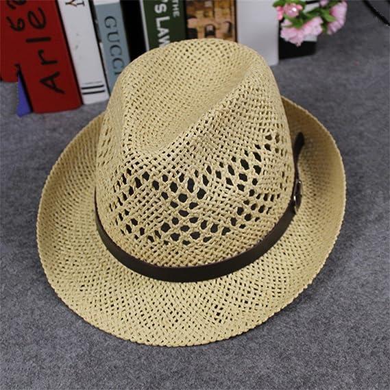 Cocoty-Store, 2019 Sombrero de Paja Canotier Mujer/Hombre | Made ...