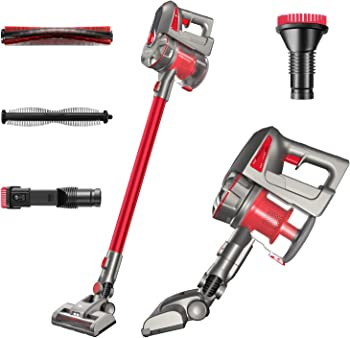Canuoya 180W Brushless Motor 23KPa High Suction Vacuum Cleaner