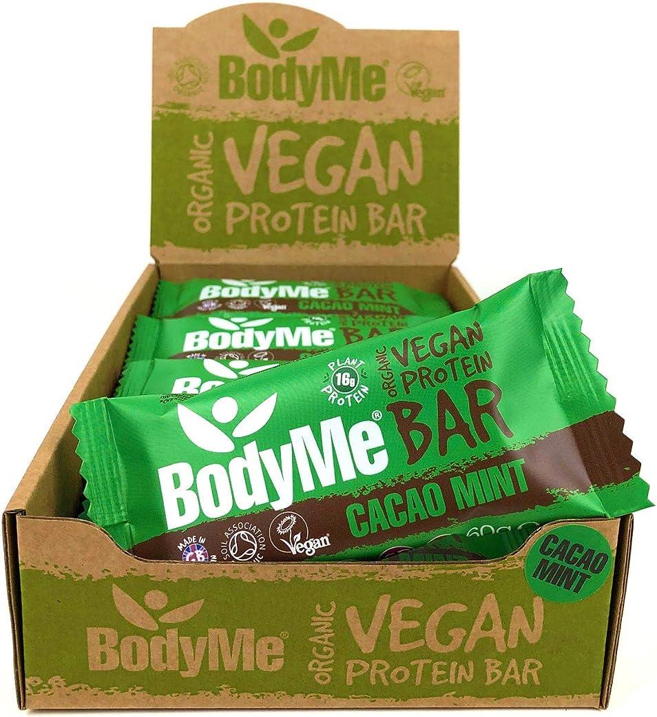 BodyMeBarritas Proteicas Veganas Organica