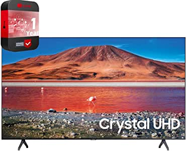SAMSUNG UN65TU7000FXZA 65 inch 4K Ultra HD Smart LED TV 2020 Model Bundle with Support Extension
