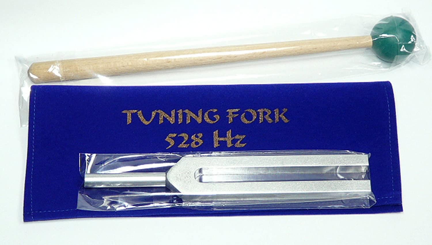 528 Hz Tuning Fork for Healing with mallet+free shipping