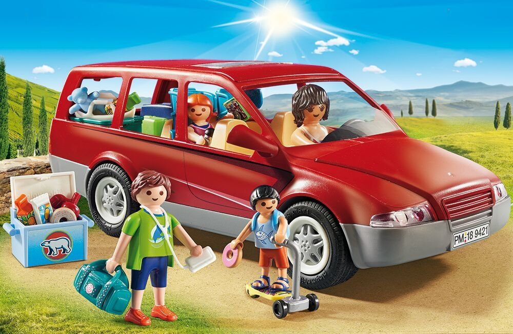 PLAYMOBIL 9421 Family Car - NEW 2018