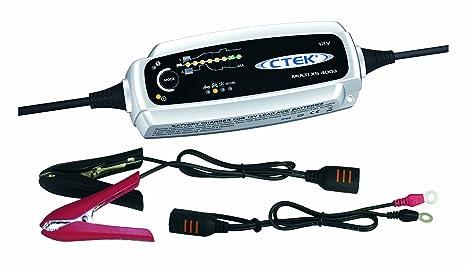 Amazon.com: CTEK Cargador de batería CTEK MXS 5.0 12 V 0.8 ...