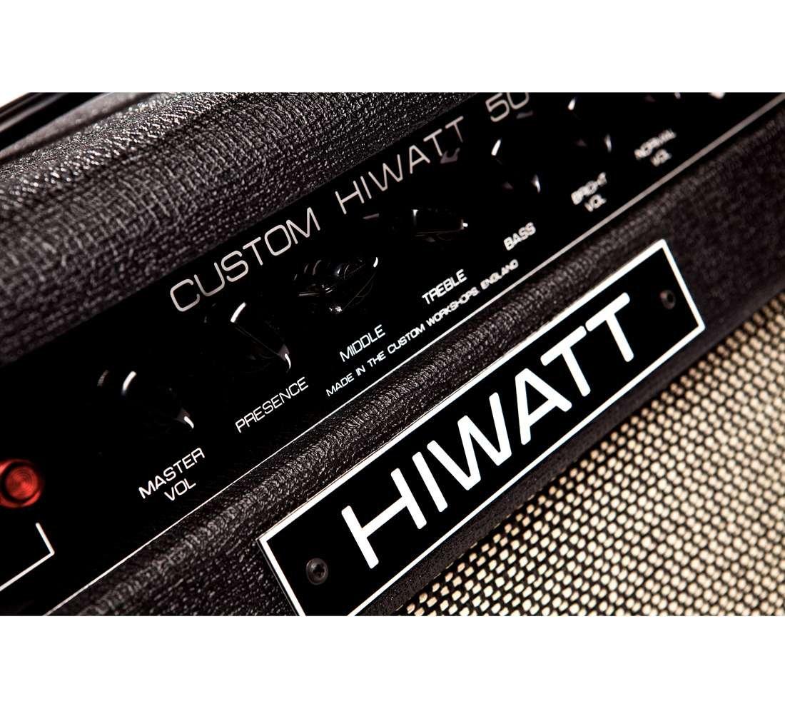 Hiwatt SA112 Custom 50 Combo-Amplificador para guitarra cada lámpara: Amazon.es: Instrumentos musicales