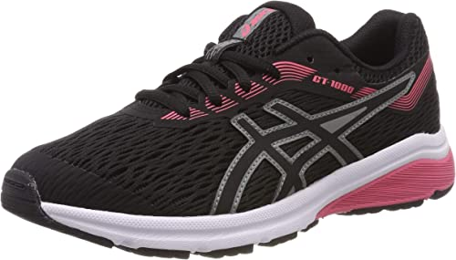 recluta Mono Abuelo  ASICS Unisex Kids' Gt-1000 7 Gs Running Shoes, Black (Black/Black 004), 3.5  UK: Amazon.co.uk: Shoes & Bags