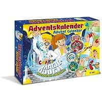 Craze 15049 - Adventskalender Magic Dough - Intelligente Superknete, BPA- und glutenfrei