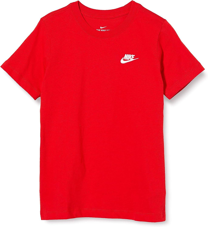 Nike Unisex Kids Tee Emb Futura T-Shirt