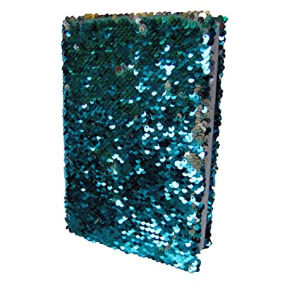 Pyramid America Mermaid Sequin Deluxe Journal Notebook 6x8 inch: Toys & Games