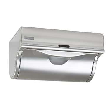 Innovia® Automatic Paper Towel Holder & Smart Dispenser, Mounts Under Cabinets, Designed For Home and Office Use, Stainless Steel Finish
