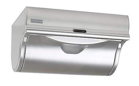 Innovia WB2 – 159S automático dispensador de toalla de papel, color plateado