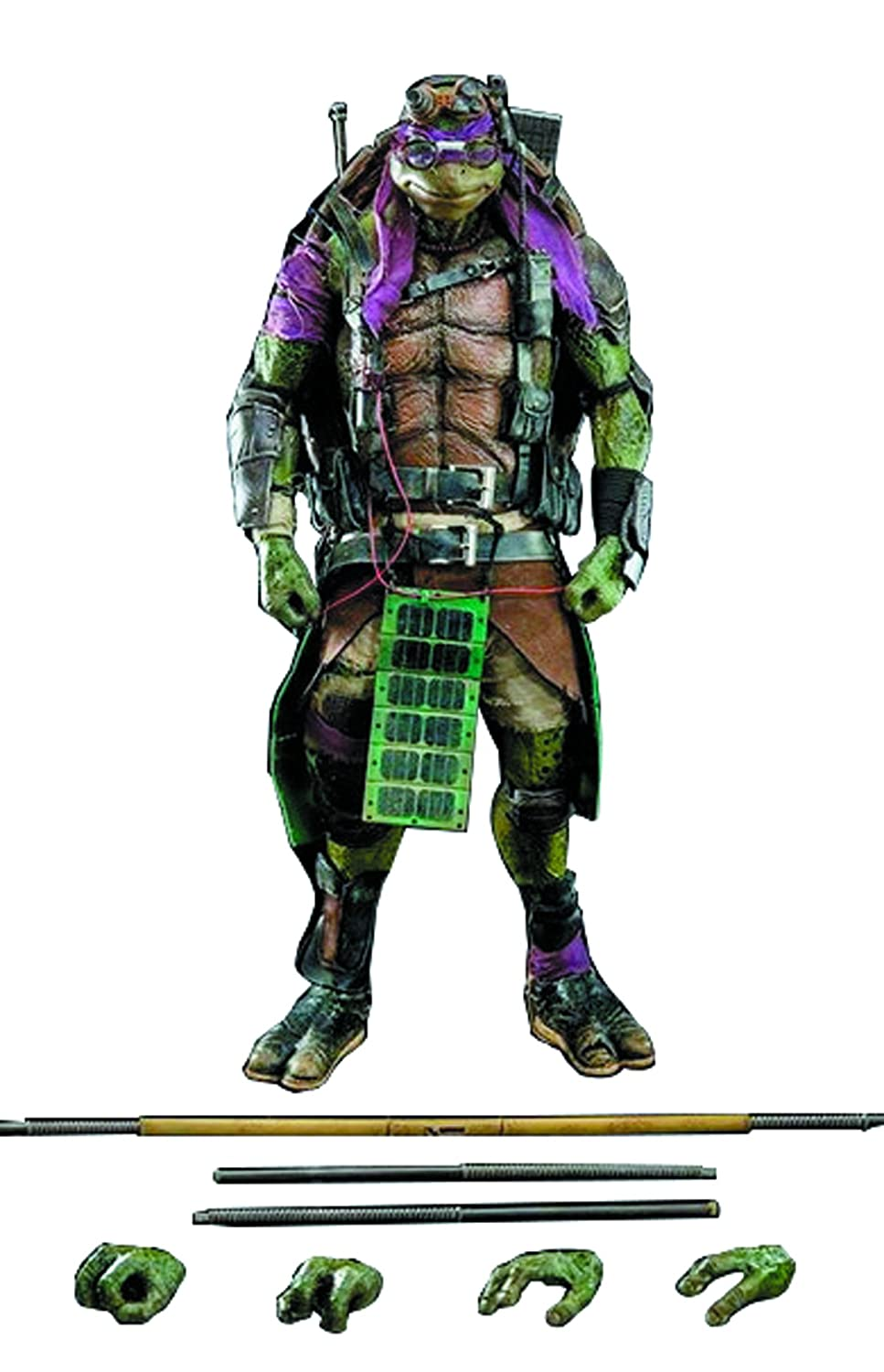 ThreeZero Teenage Mutant Ninja Turtles The Movie Donatello 1:6 Scale Figure