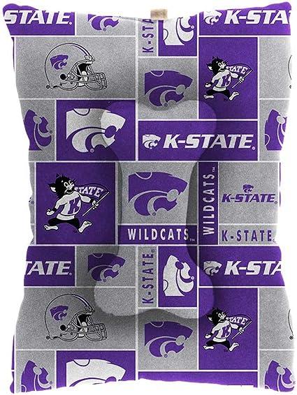 Kansas State NCAA Mesh /& Premium Embroidery Dog Reversible Bandana Kansas State, Large//X-Large 14.5 x 9.5