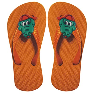 Alligator Toddler Rubber Flip-Flops