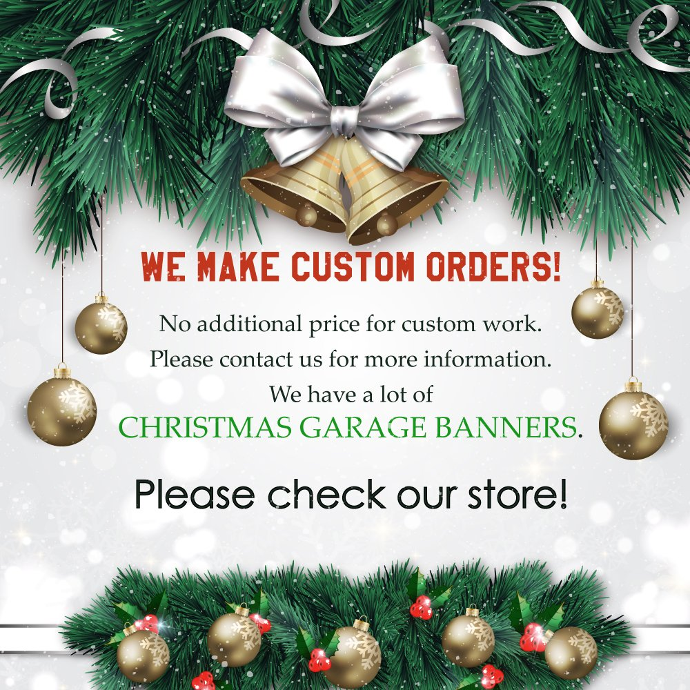 Holy Night Decor Garage Door Banner Jesus Nativity Scene Single Garage Door Covers Billboard House Garage Merry Christmas Full Color Decor 3D Effect Print Mural Banner Size 83 x 96 inches DAV199