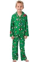 PajamaGram Boys' Charlie Brown Christmas Pajamas