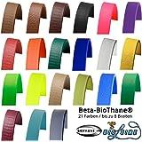 Beta BioThane® 25 Farben und bis zu 8 Breiten