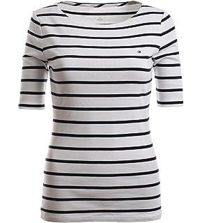 Tommy Hilfiger Damen 3 4 Arm Shirt Longsleeve Damenshirt Marine Größe XXS 1fb74f4b06