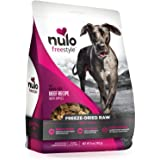 Nulo Freeze Dried Raw Dog Food for All Ages & Breeds: Natural Grain Free Formula with GanedenBC30 Probiotics for Digestive &