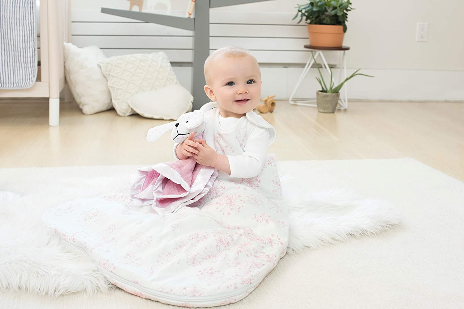 Amazon.com: aden + anais Winter Sleeping Bag - Lovely Reverie Dandelion - 0-6m: Baby