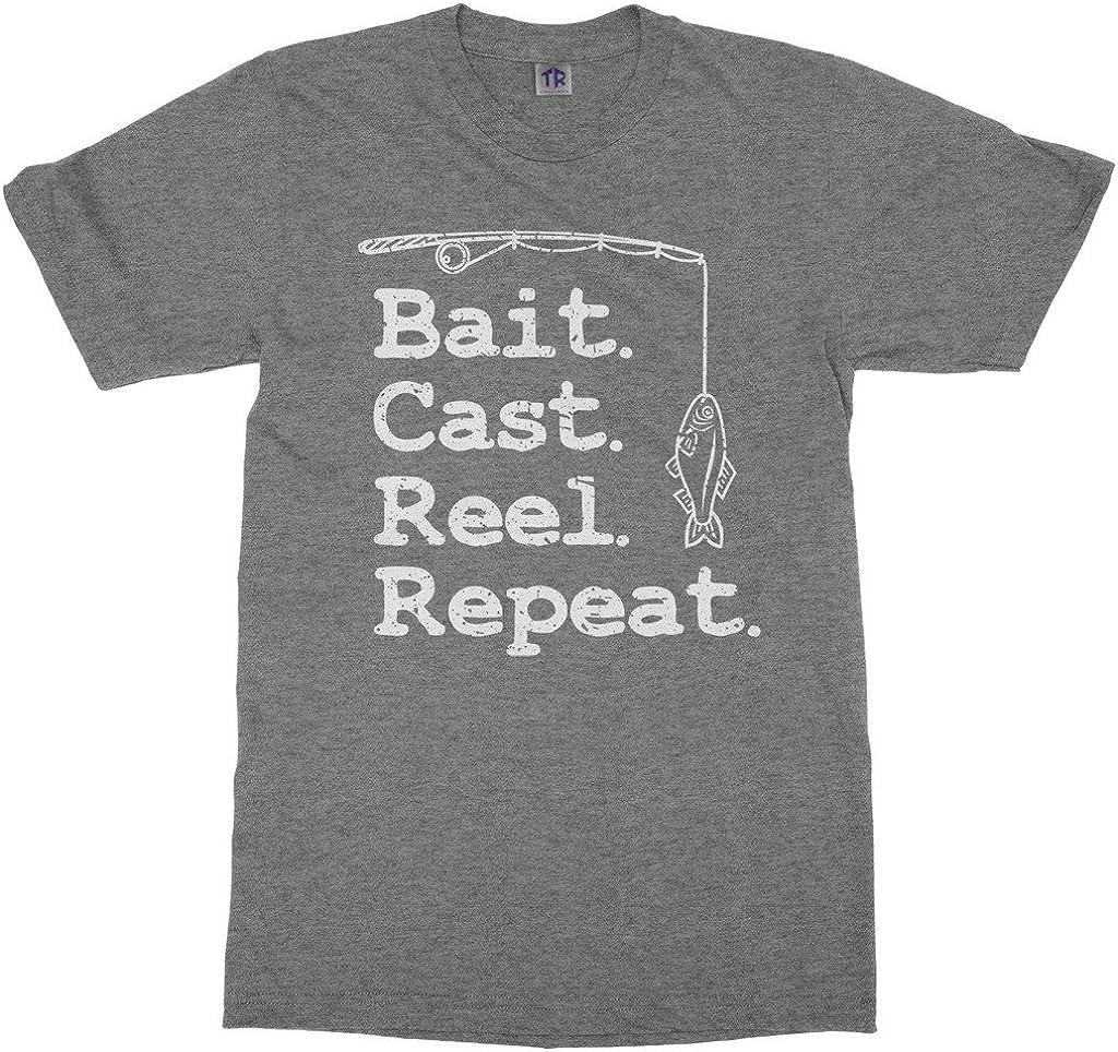 Threadrock Kids Bait Cast Reel Repeat Youth T-Shirt