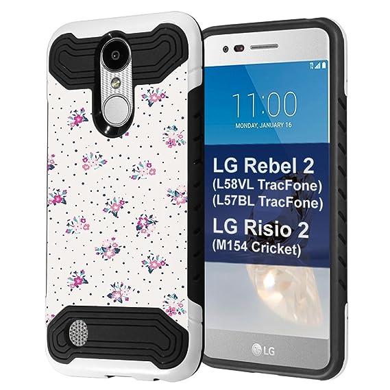 Amazon com: LG Rebel 2 Case, LG LG Risio 2 Case, Capsule
