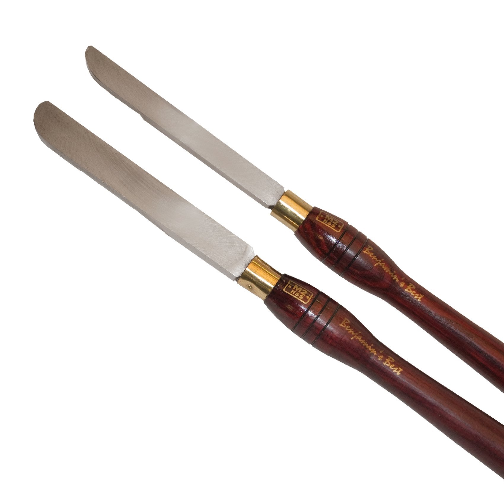 PSI Woodworking LCSIDE2 Round Side Scraper Chisels, 2-Piece Set by PSI Woodworking