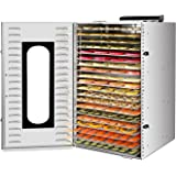 Commercial Stainless Steel Food Dehydrator for food and Jerky 1500W 20 Layers Food Dryer with Digital Adjustable Timer 0-24H